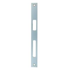 Flachschließblech für Aluminiumprofile verzinkt