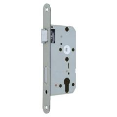 PZ-Zimmertür-Einsteckschloss für Stumpftüren, abgerundet