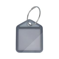 """Schlüsselanhänger """"der Kleine"""" aus Kunststoff mit Ring - aufklappbar"""