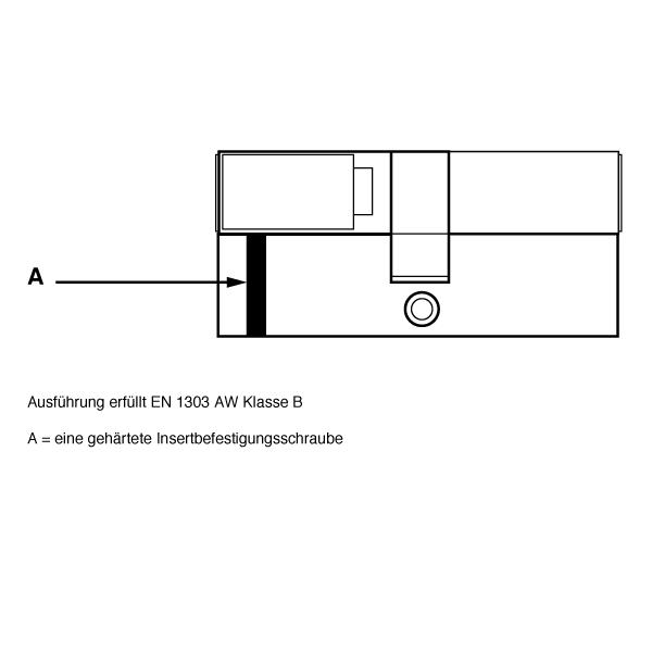 DORMAKABA Standard Bohrschutz