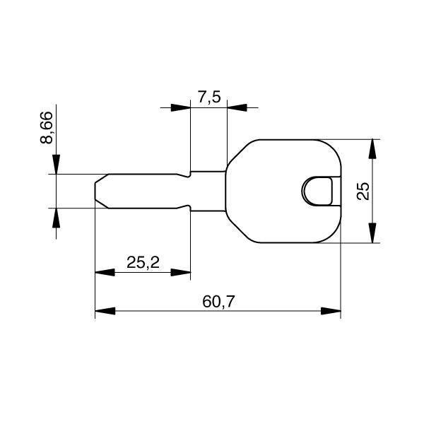 EVVA ICS Designkappe