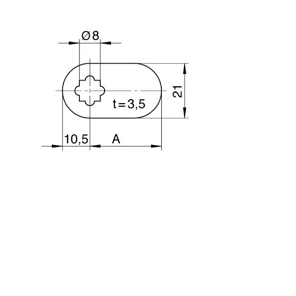 Briefkasten mit Standard-Hebel 001