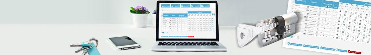 Schließanlage online konfigurieren